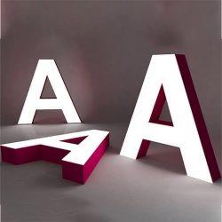Буквы из жидкого акрила Алматы
