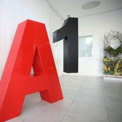 Объемные буквы Алматы